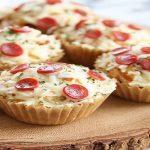 طرز تهیه پیتزا کاپ کیکی