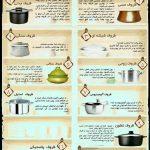 مناسب ترین ظرف برای پخت و پز چیست؟